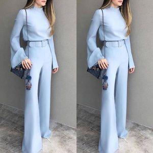 Super cute ice blue jumpsuit!!! Brand new SIZE S/M